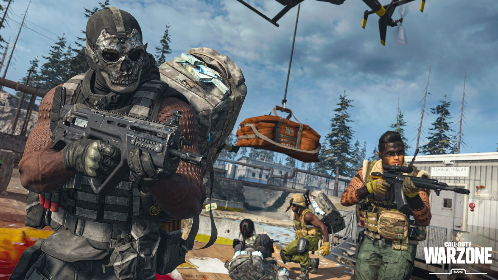 Call of Duty Warzone Infintiy Ward