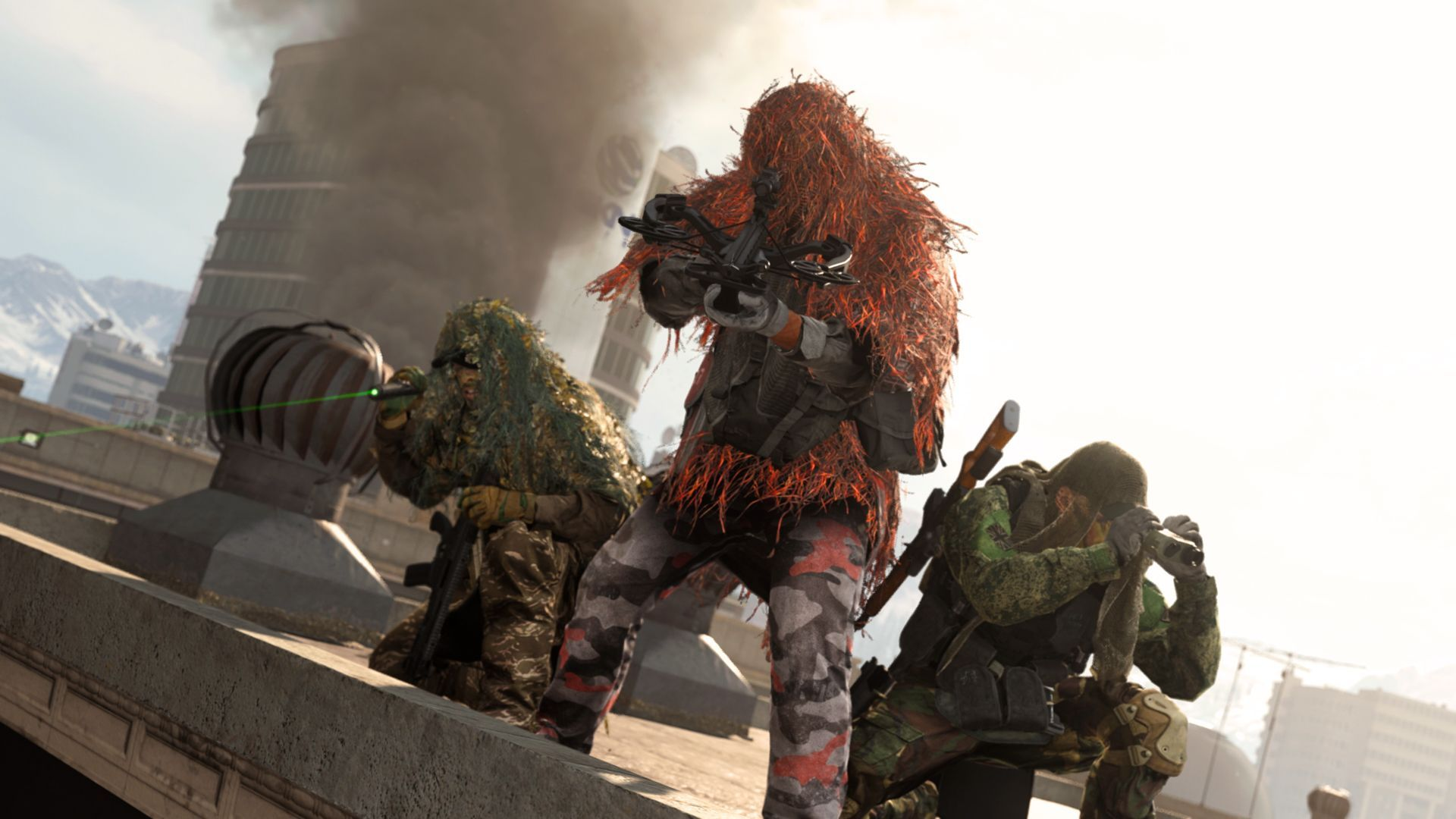 Warzone Call of Duty Infinity Ward snipers
