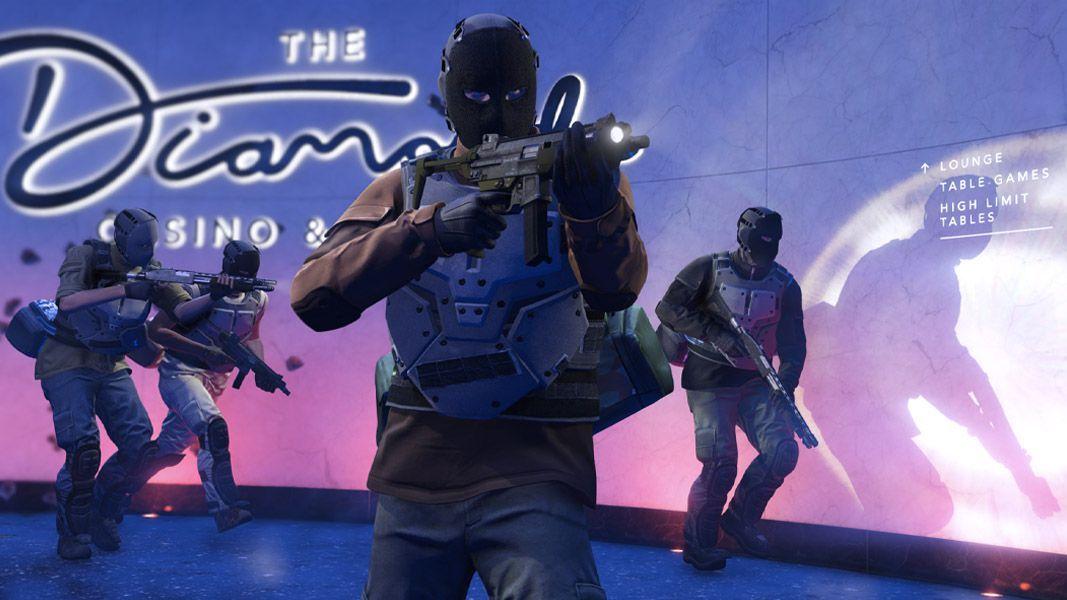 GTA Oneline Rockstar Games braquage