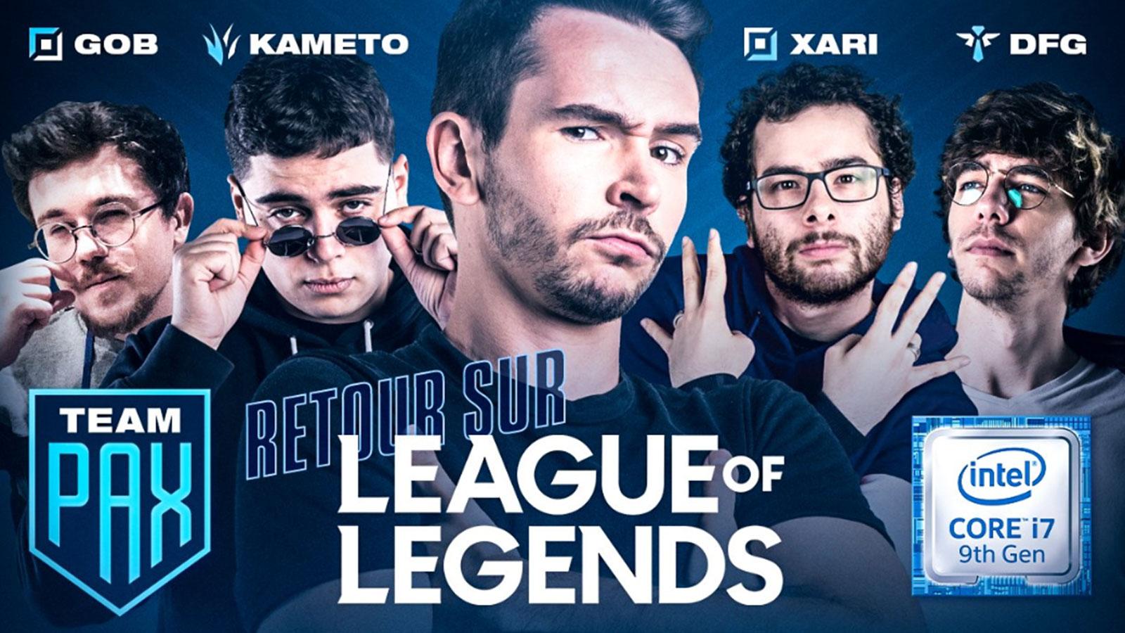 Domingo fait son grand retour sur League of Legends