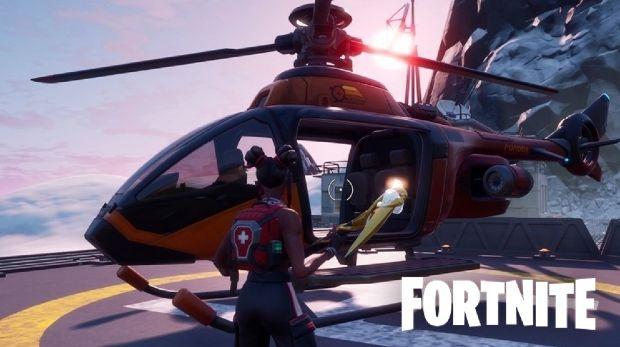 Choppa Fortnite Saison 2 Epic Games