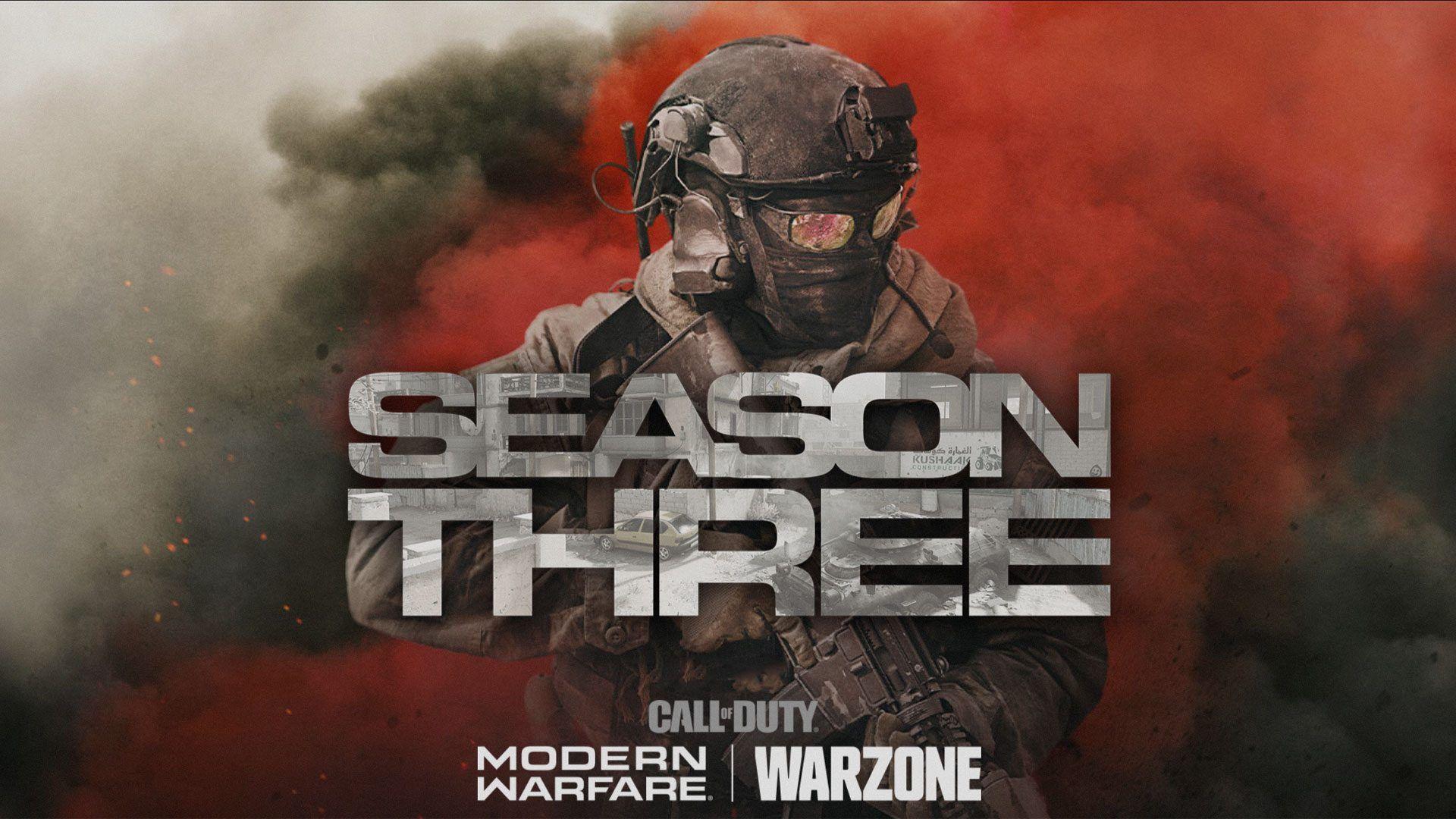 Call of Duty Modern Warfare Saison 3 Warzone Infinity Ward