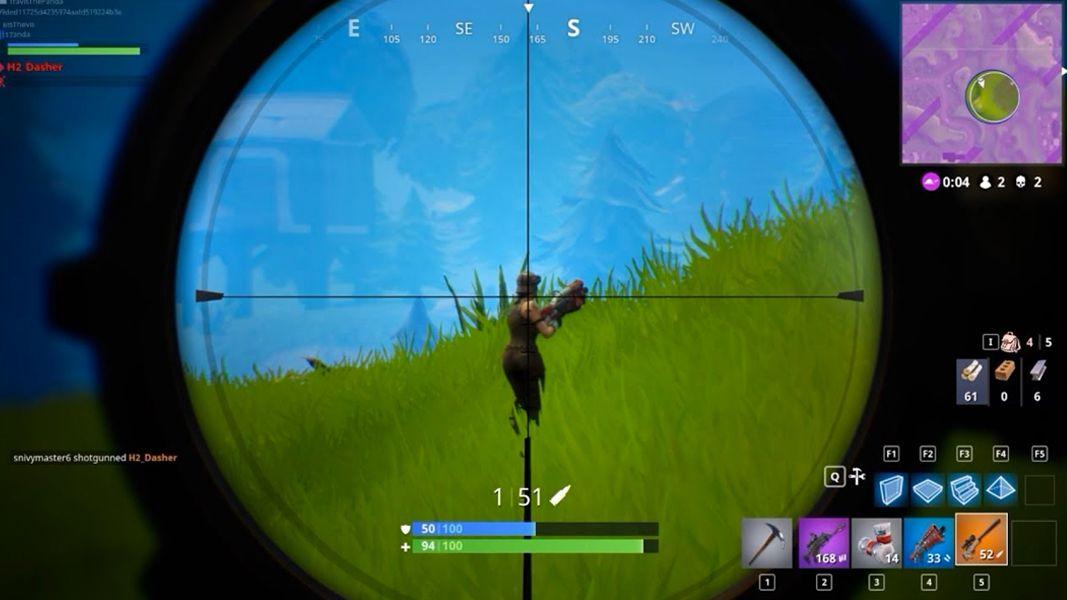 Fortnite sniper visée Epic Games