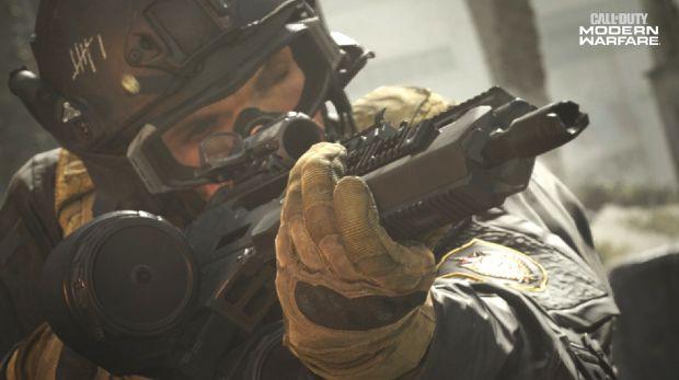 Call of Duty Modern Warfare mode Domination Infinity Ward