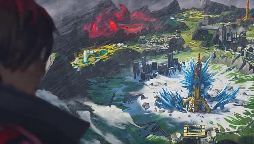 La dernière carte à avoir fait sn apparition est World's Edge