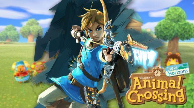 Nintendo Animal Crossing New Horizons The Legend of Zelda Breath of the Wild