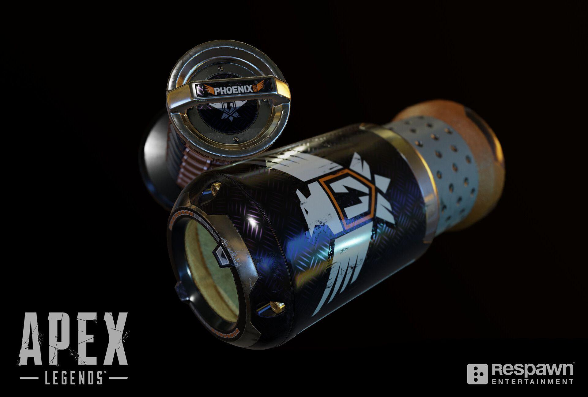 Apex Legends Kit Phoenix Phoenix Cell Chris Burks Respawn Entertainment