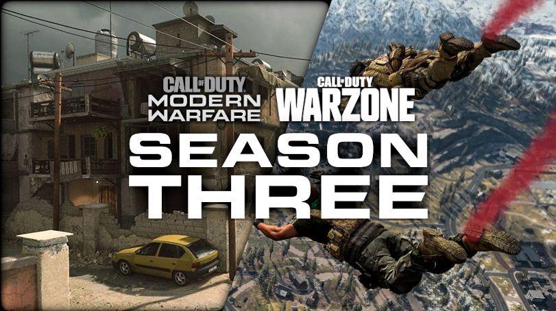 Call of Duty Modern Warfare Infinity Ward Saison 3