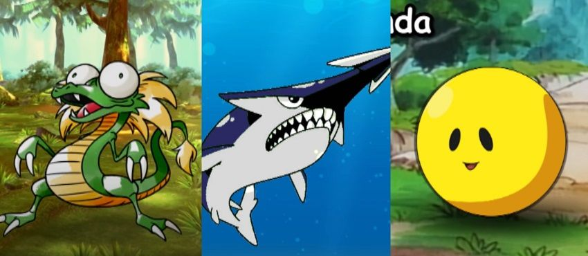 Pokémon Crocky Jaggu Barunda Dr Lava '\ Lost Pokemon