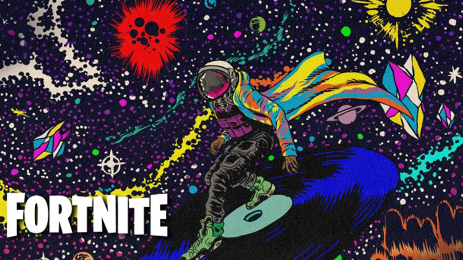 Skin Travis Scott Astro Jack sur Fortnite