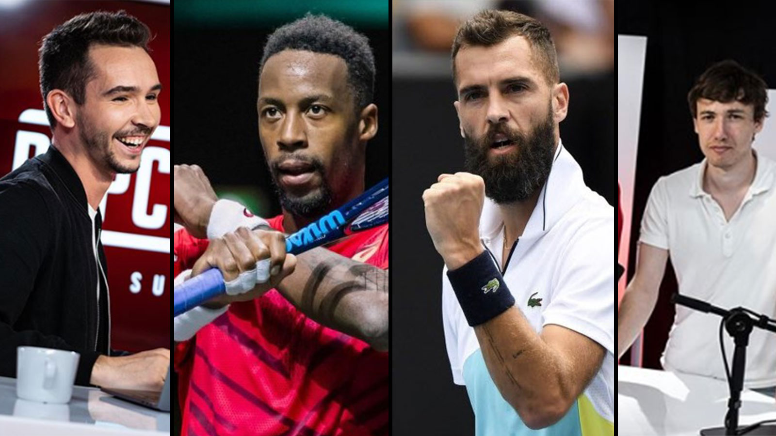 Domingo et Monfils vont affronter Sardoche et Paire au Tennis