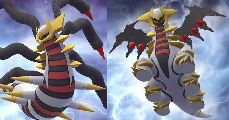 Giratina Pokémon Go Niantic The Pokémon Company
