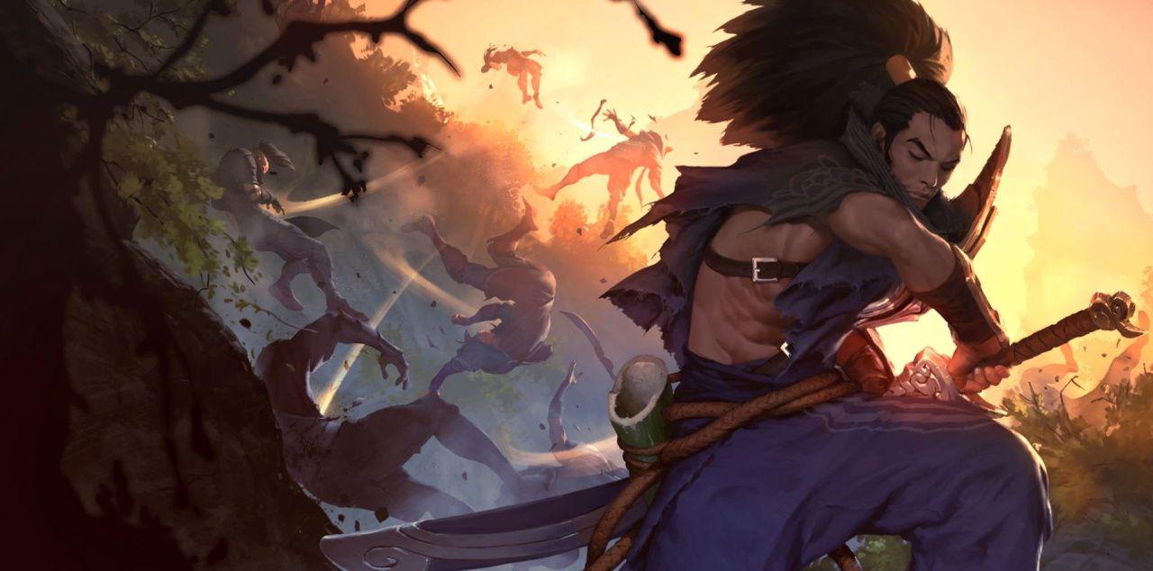 League of Legends Yasuo Riot Games