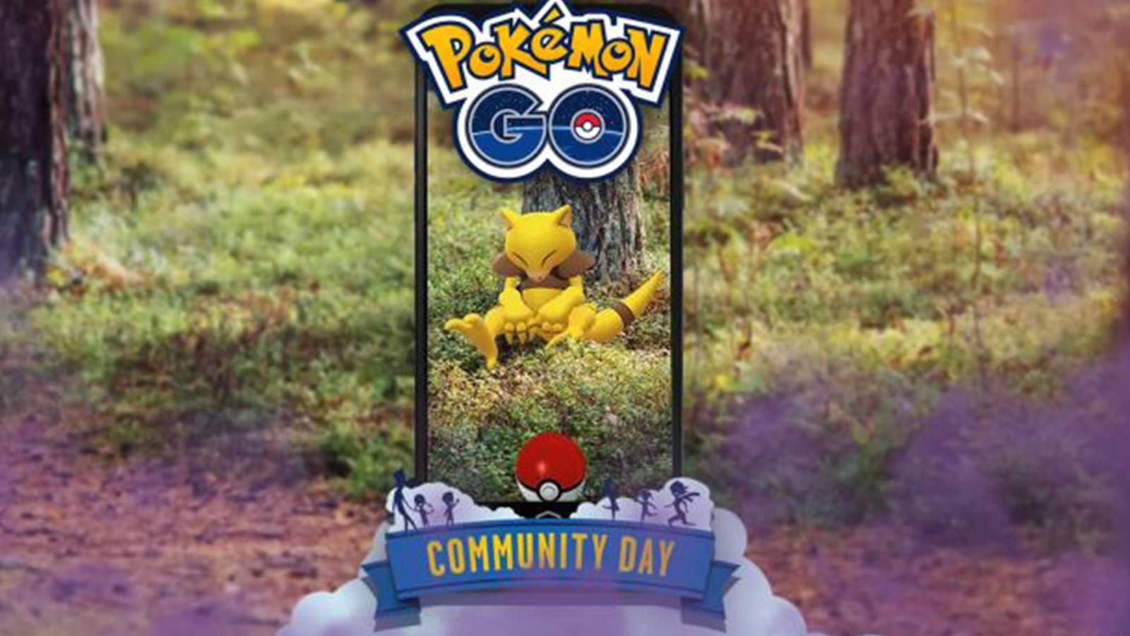 Pokémon Go Community Day Abra