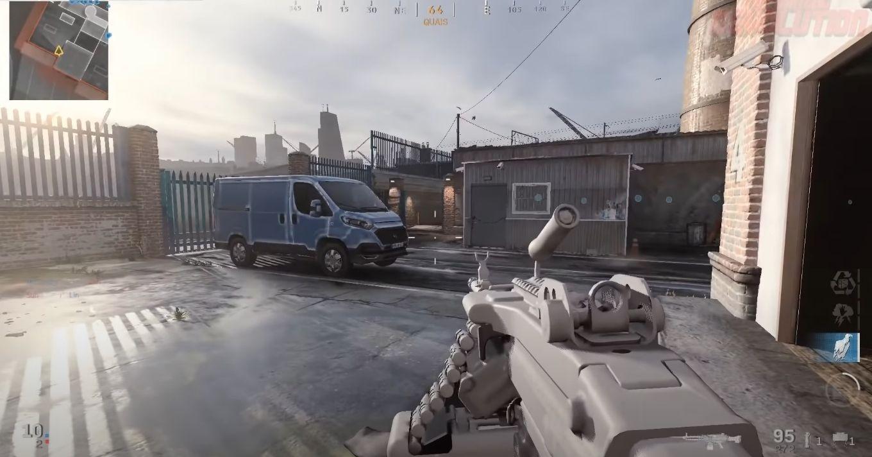 Call of Duty Modern Warfare M249 SAW Infinity Ward