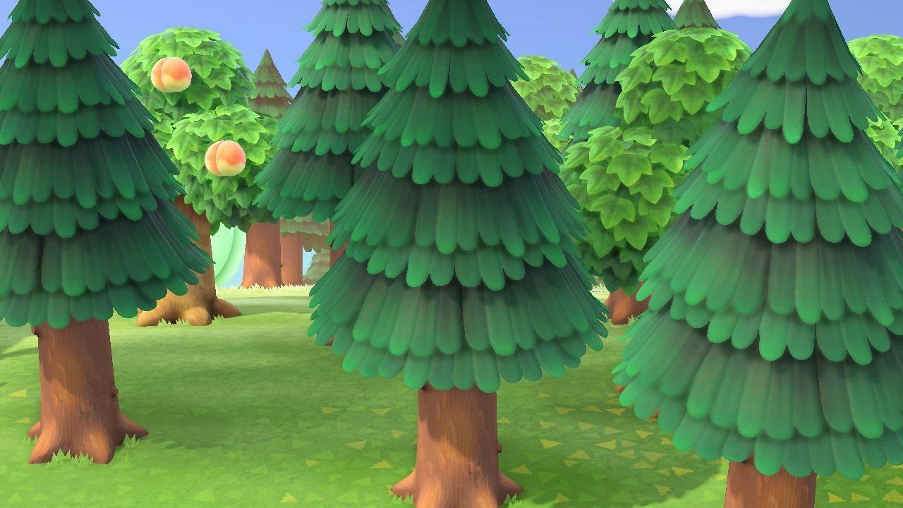 Animal Crossing : New Horizons arbres Nintendo