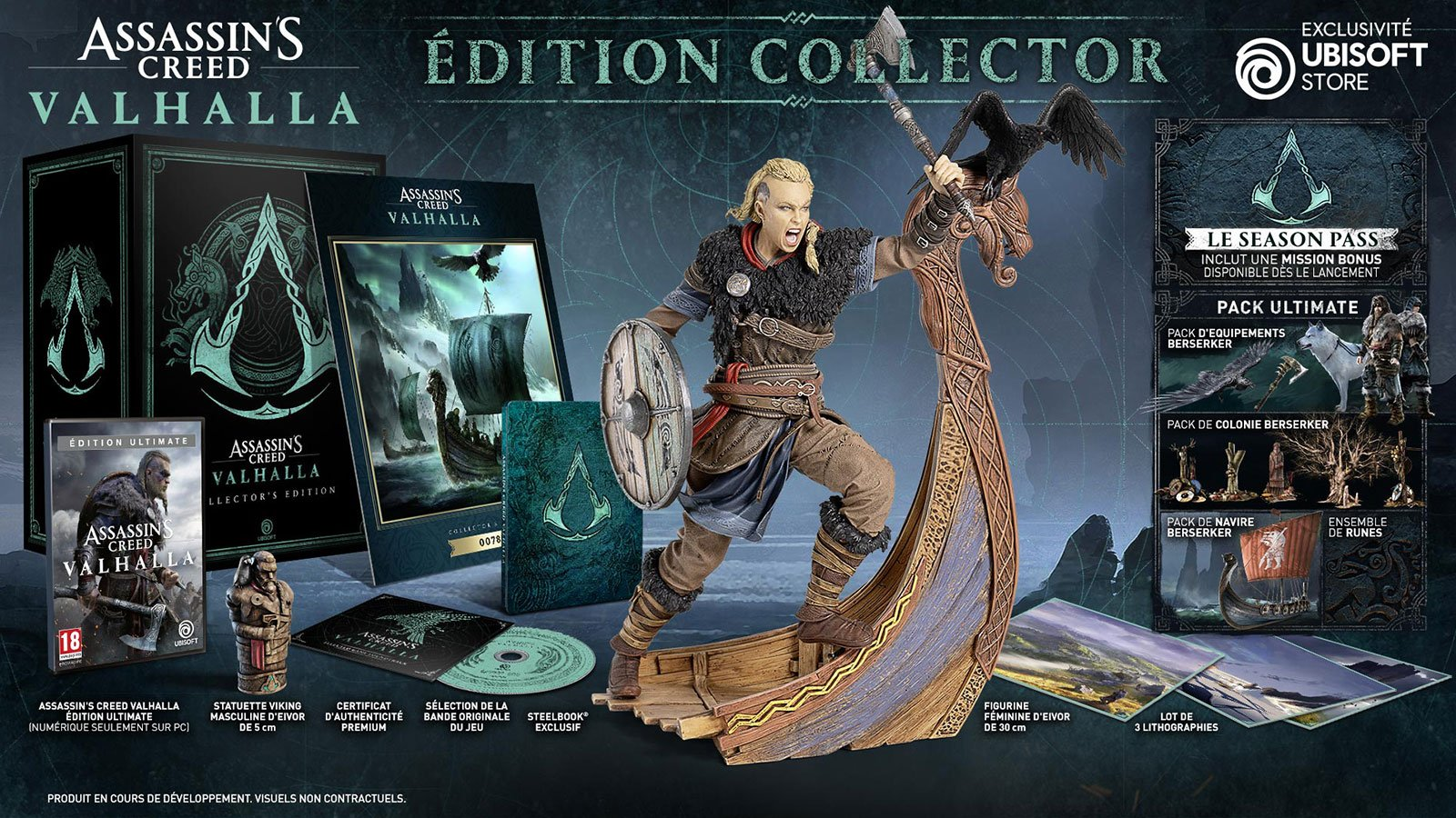 Pack Collector Assassin's Creed Valhalla Ubisoft