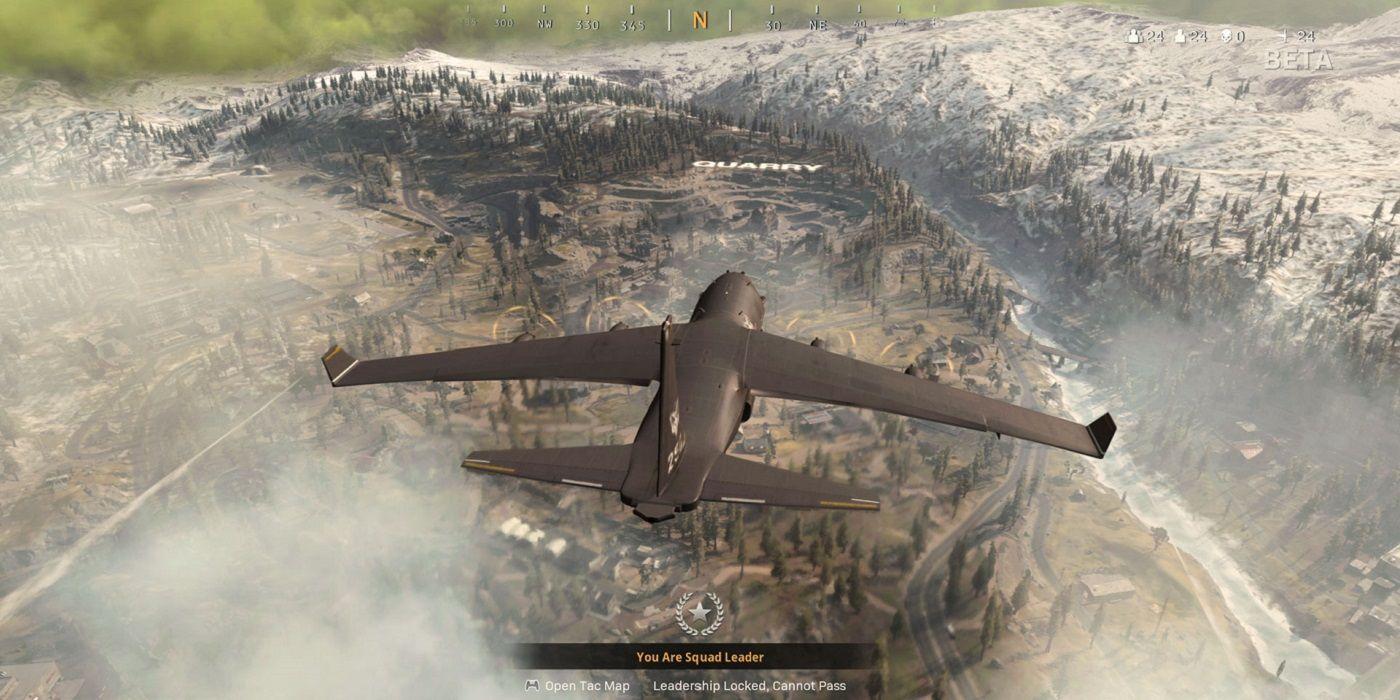 Call of Duty Warzone Infinity Ward avion