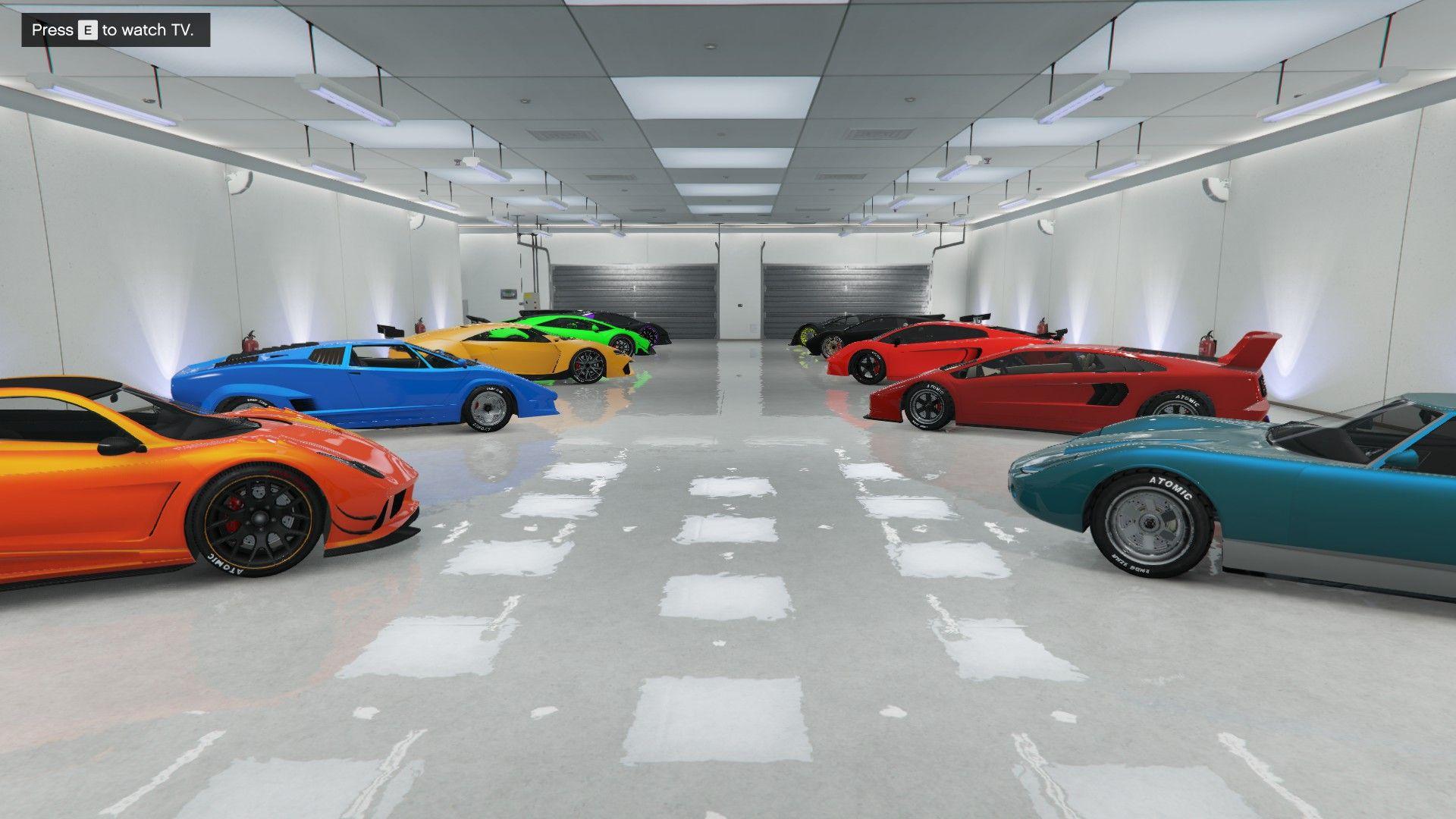 Les véhicule ont une place importante dans GTA Online