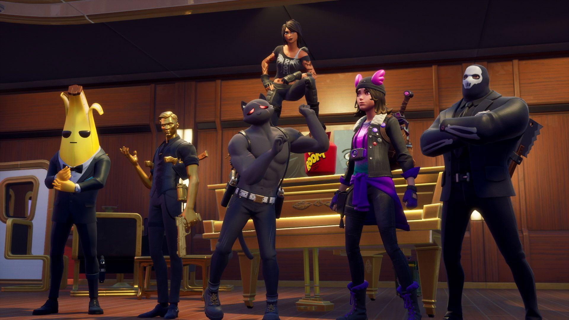 Fortnite Saison 2 Epic Games agents