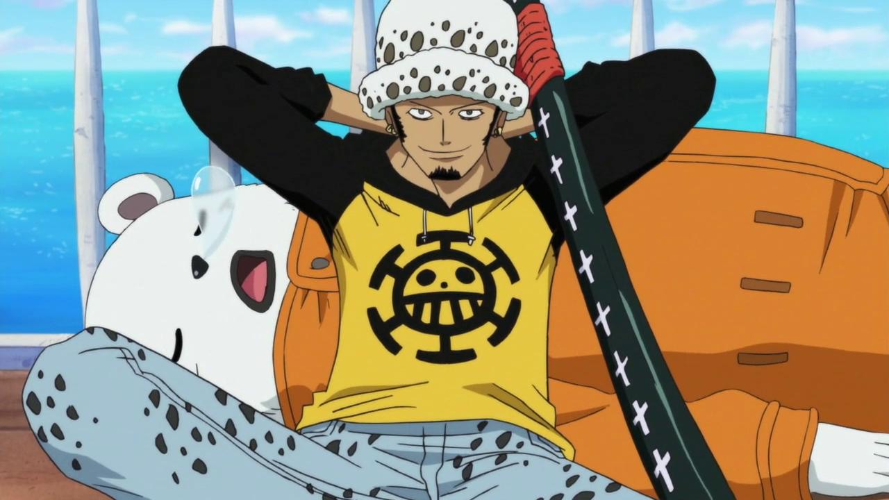 Trafalgar Law est un personnage emblématique de One Piece