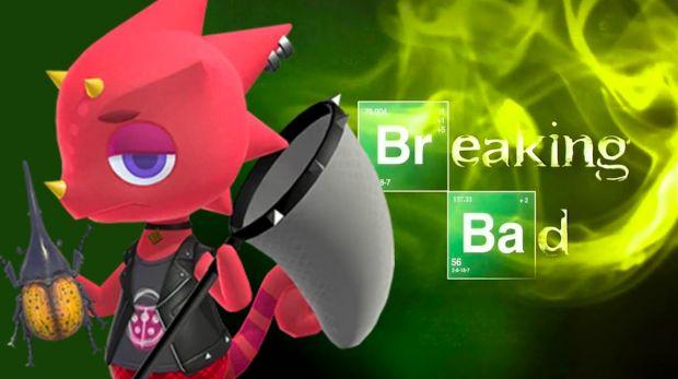 Animal Crossing : New Horizons   Breaking Bad logo