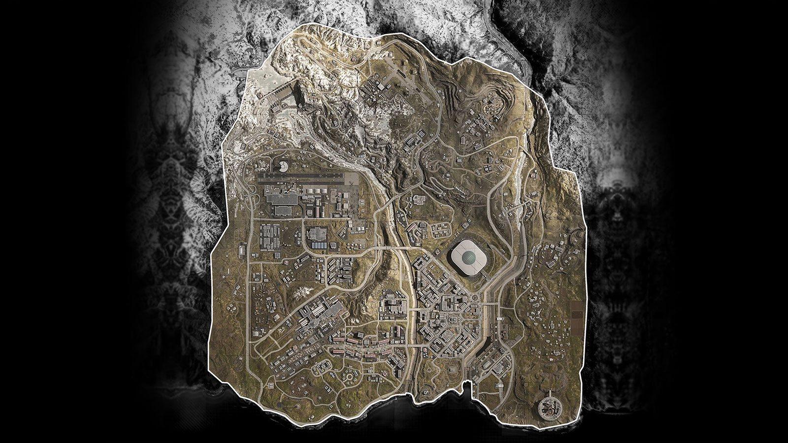 Call of Duty : Warzone carte Infinity Ward