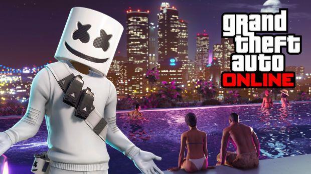 Quand Fortnite s'invite sur GTA Online grâce à un mod génial
