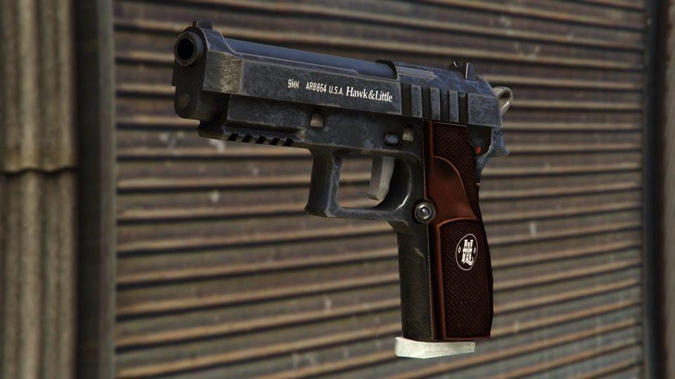 Pour l'heure les pistolets sont gratuits sur GTA Online