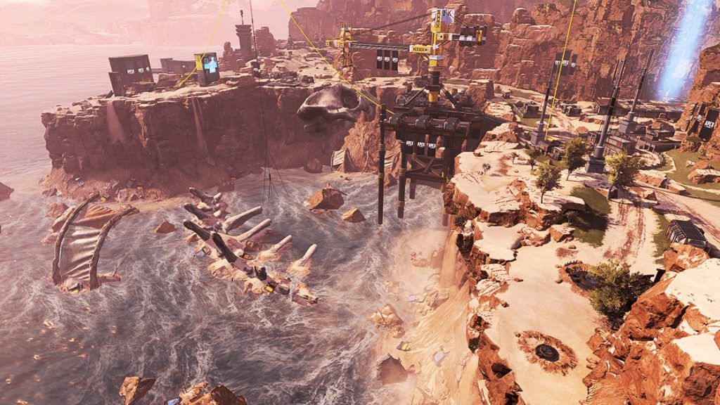 Le Canyon des Rois a subi d emultiples modifications sur Apex