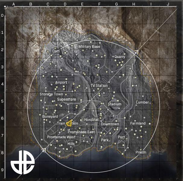 Carte Warzone Infinity War dDexerto