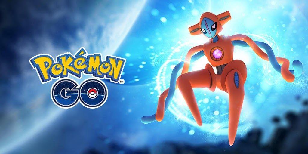 Deoxys Pokémon Go Niantic
