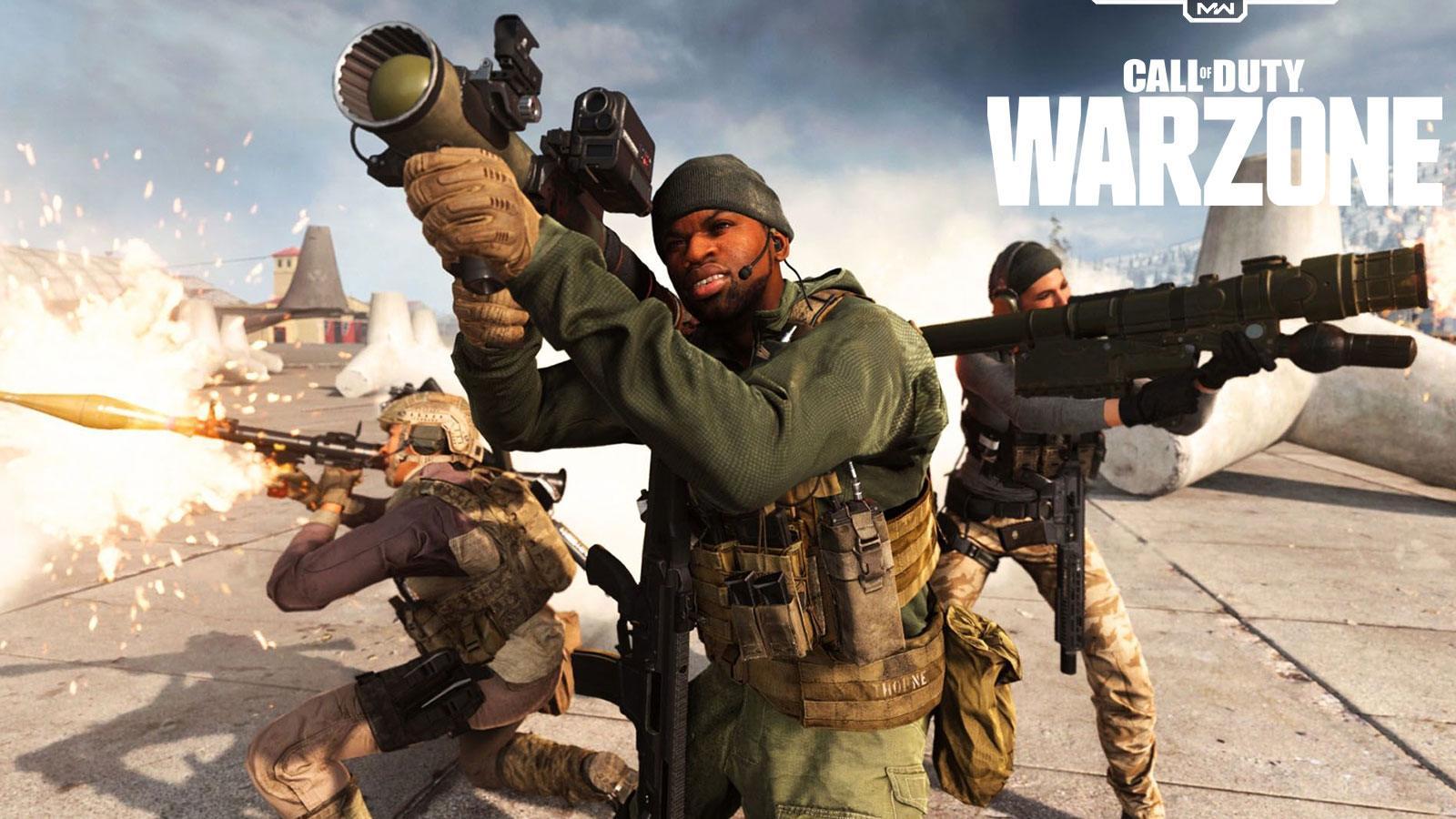 Call of Duty : Warzone buff secret RPG Infinity Ward
