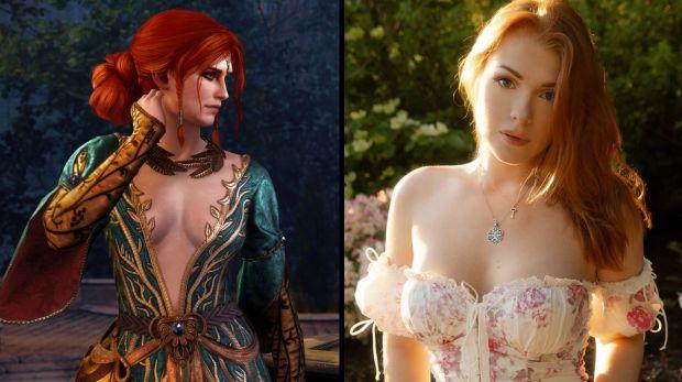 Une cosplayeuse a laissé les fans de The Witcher sans voix face à son cosplay de Triss Merigold