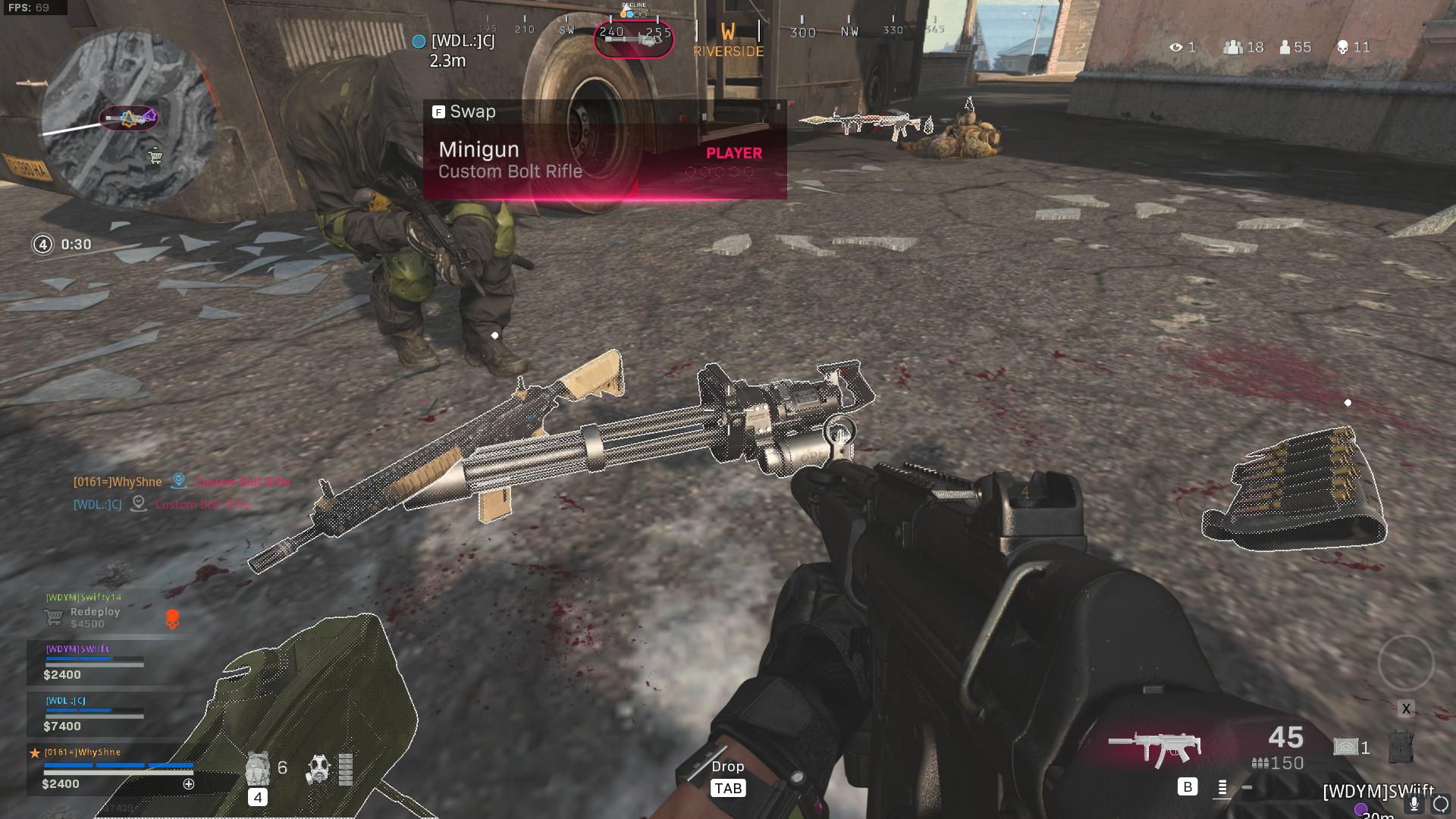 Call of Duty Warzone Minigun, Reddit Whyshne Infinity Ward