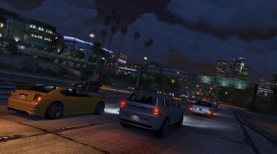Les véhicules ont une place centrale dans GTA Online