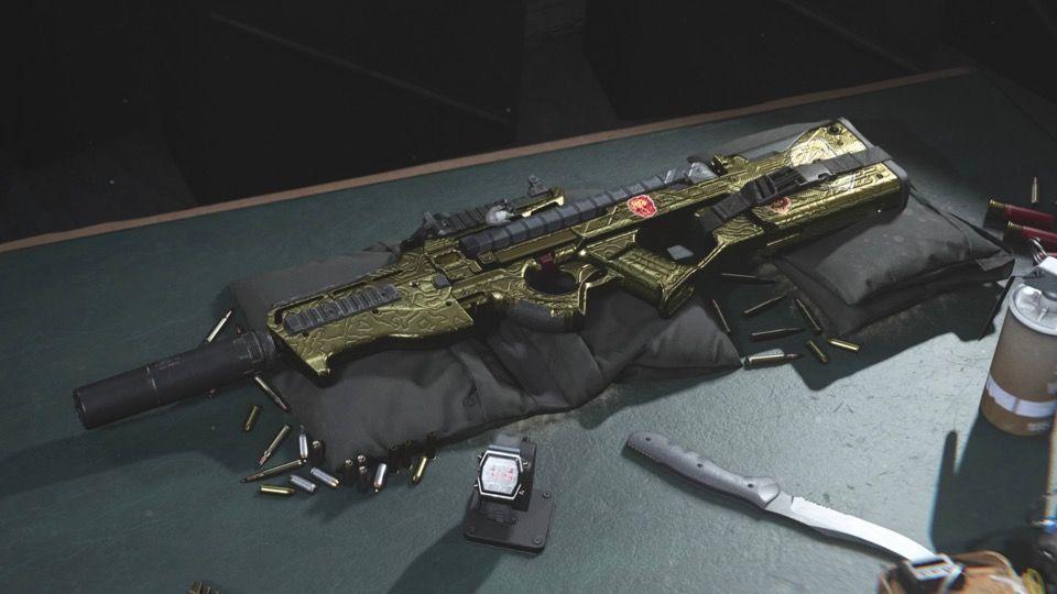 Call of Duty: Modern Warfare Warzone P90 Activision