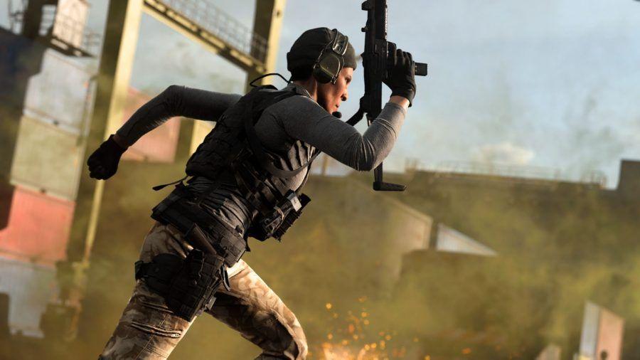 Call of Duty: Modern Warfare Warzone Uzi Activision