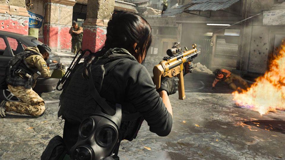 Call of Duty: Modern Warfare Warzone MP5 Activision