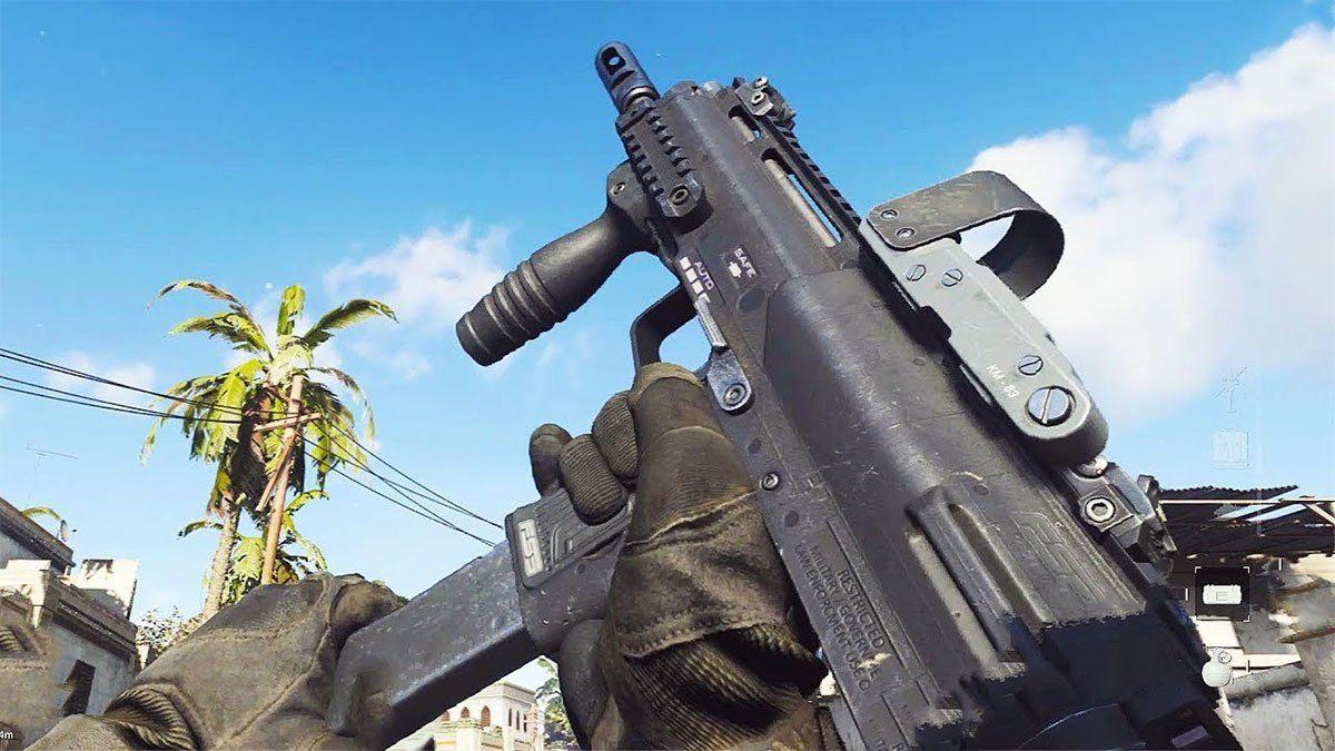 Call of Duty: Modern Warfare Warzone MP7 Activision
