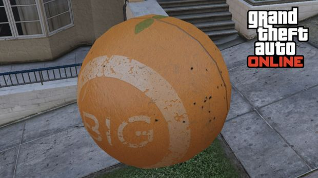 balle orange GTA Online Rockstar Games