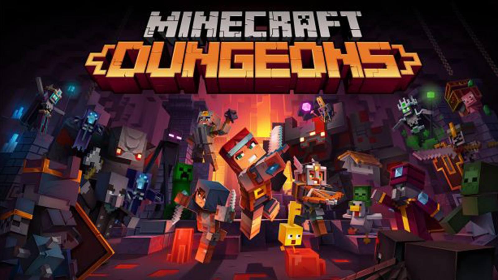 Dates de sorties des prochains DLC de Minecraft Dungeons