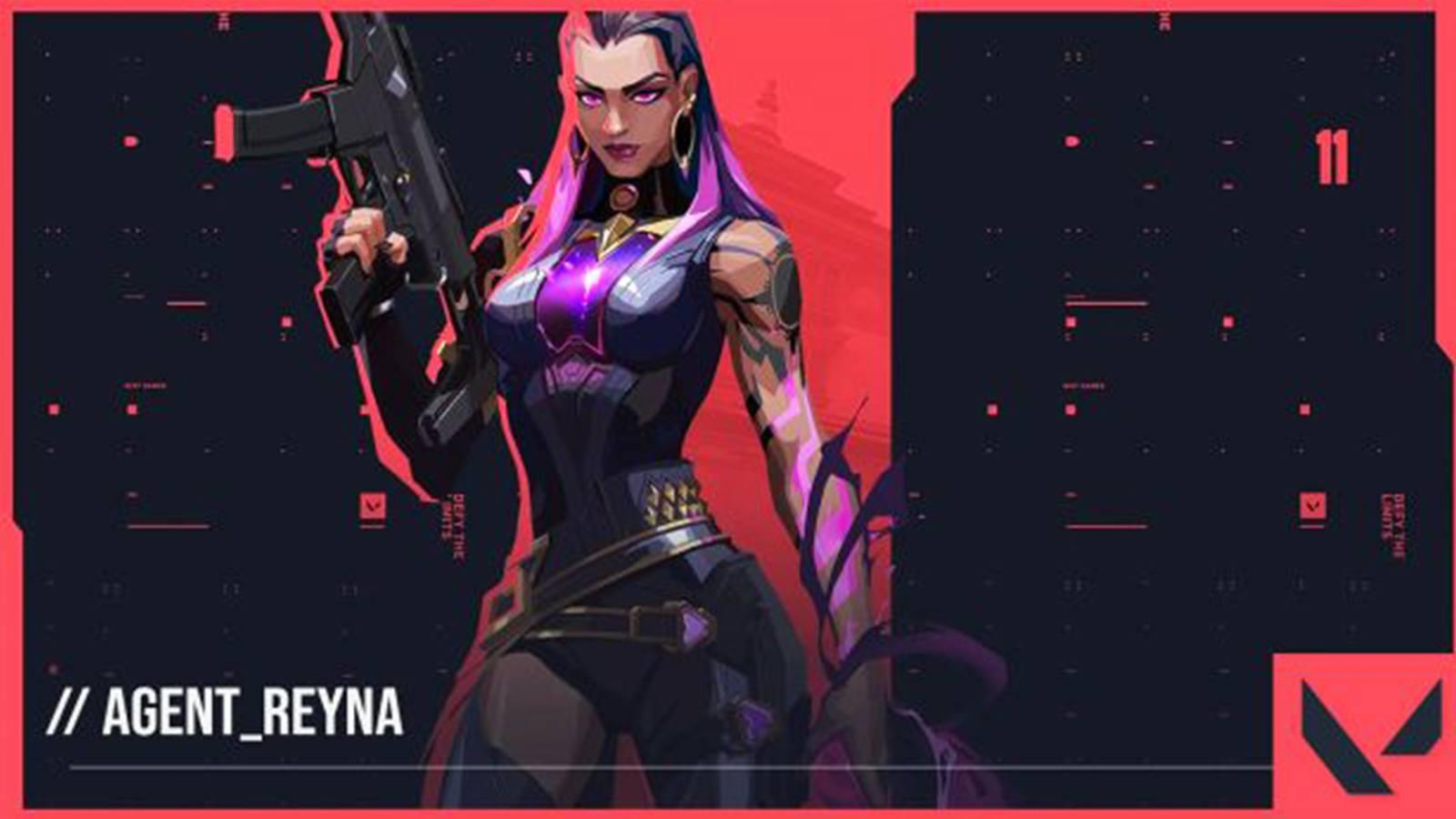 Capacités nouvel agent de Valorant, Reyna