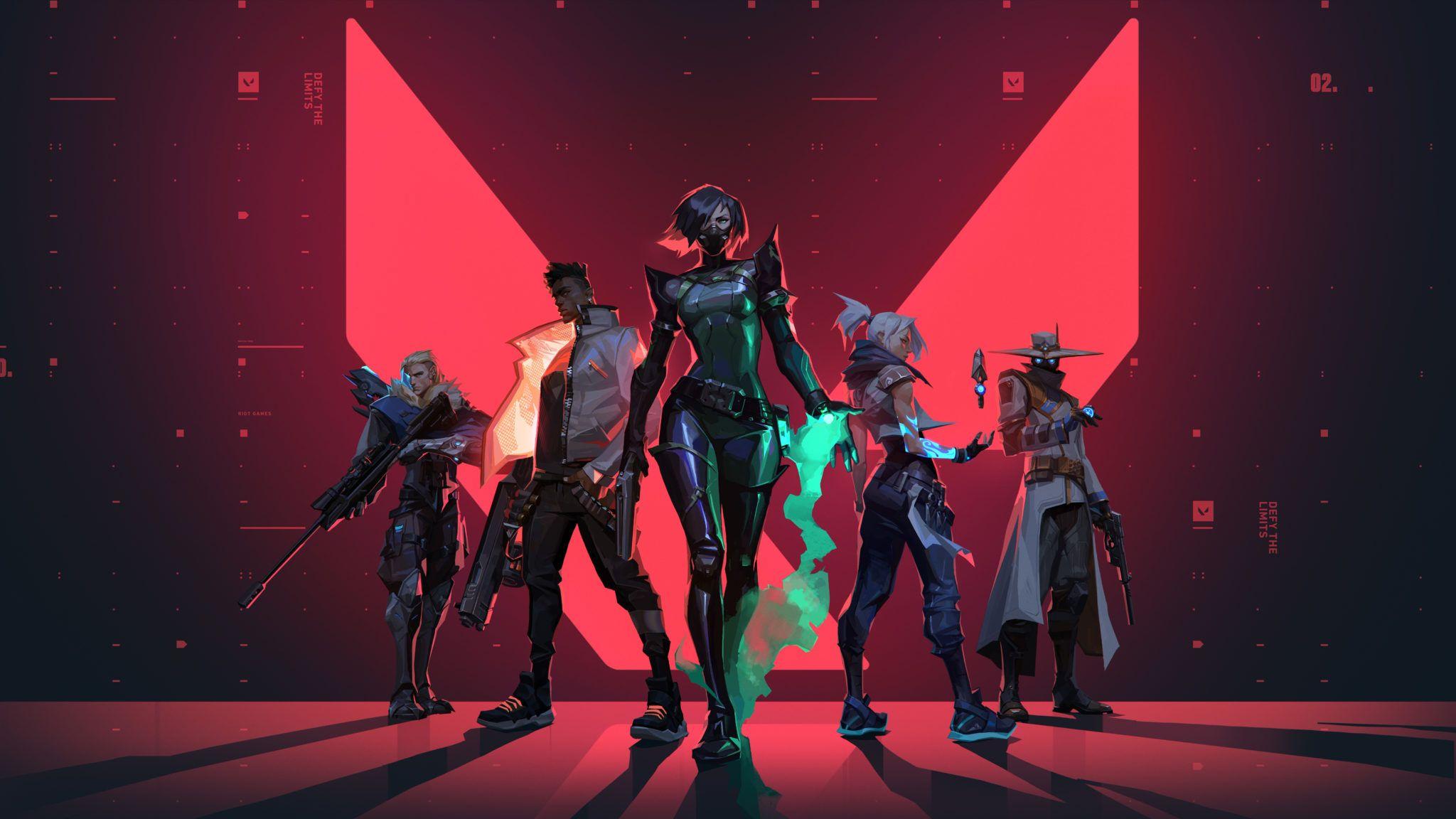 Valorant Cover Riot Games