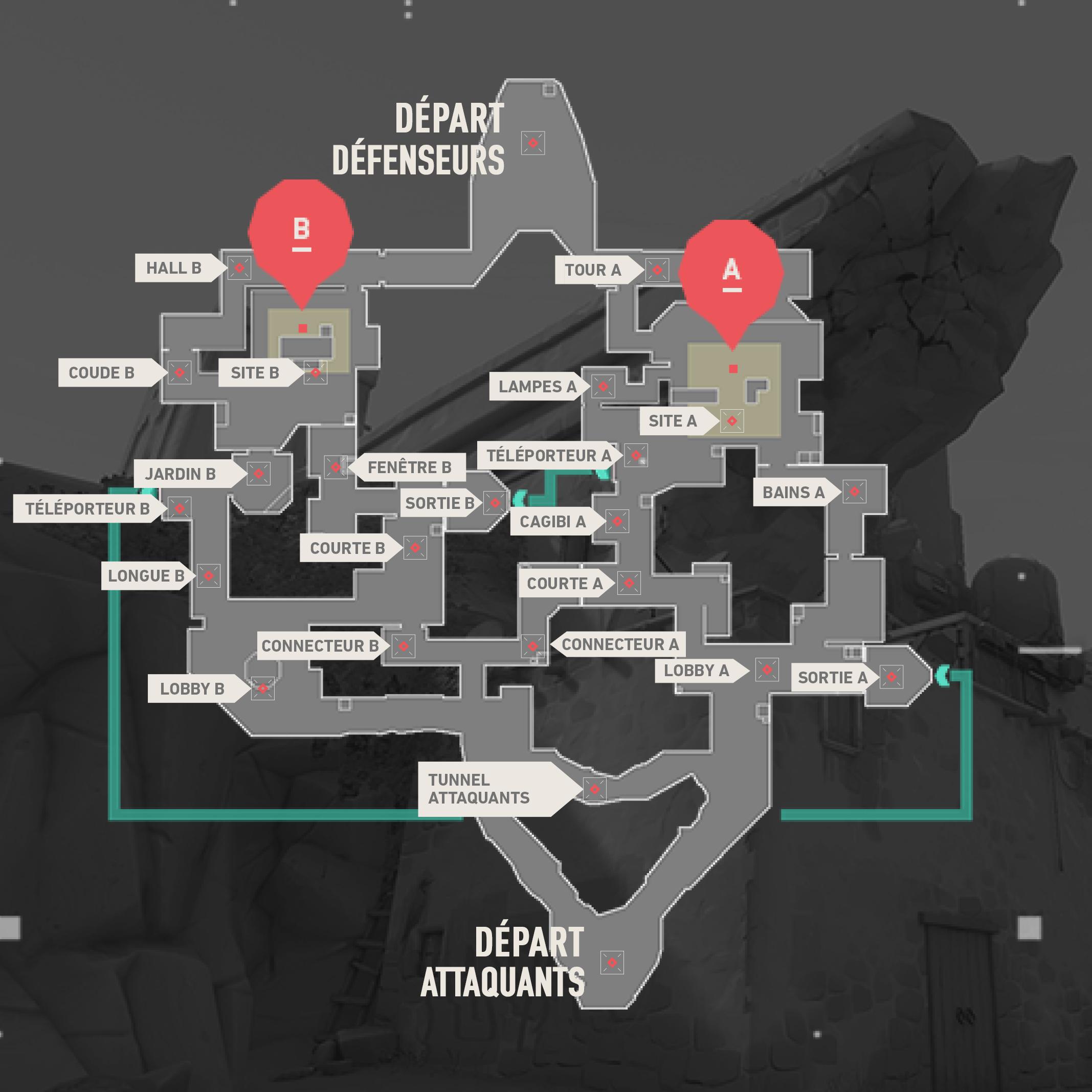 Plan de Bind sur Valorant