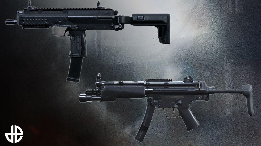Call of Duty Warzone Infinity Ward MP5 MP7