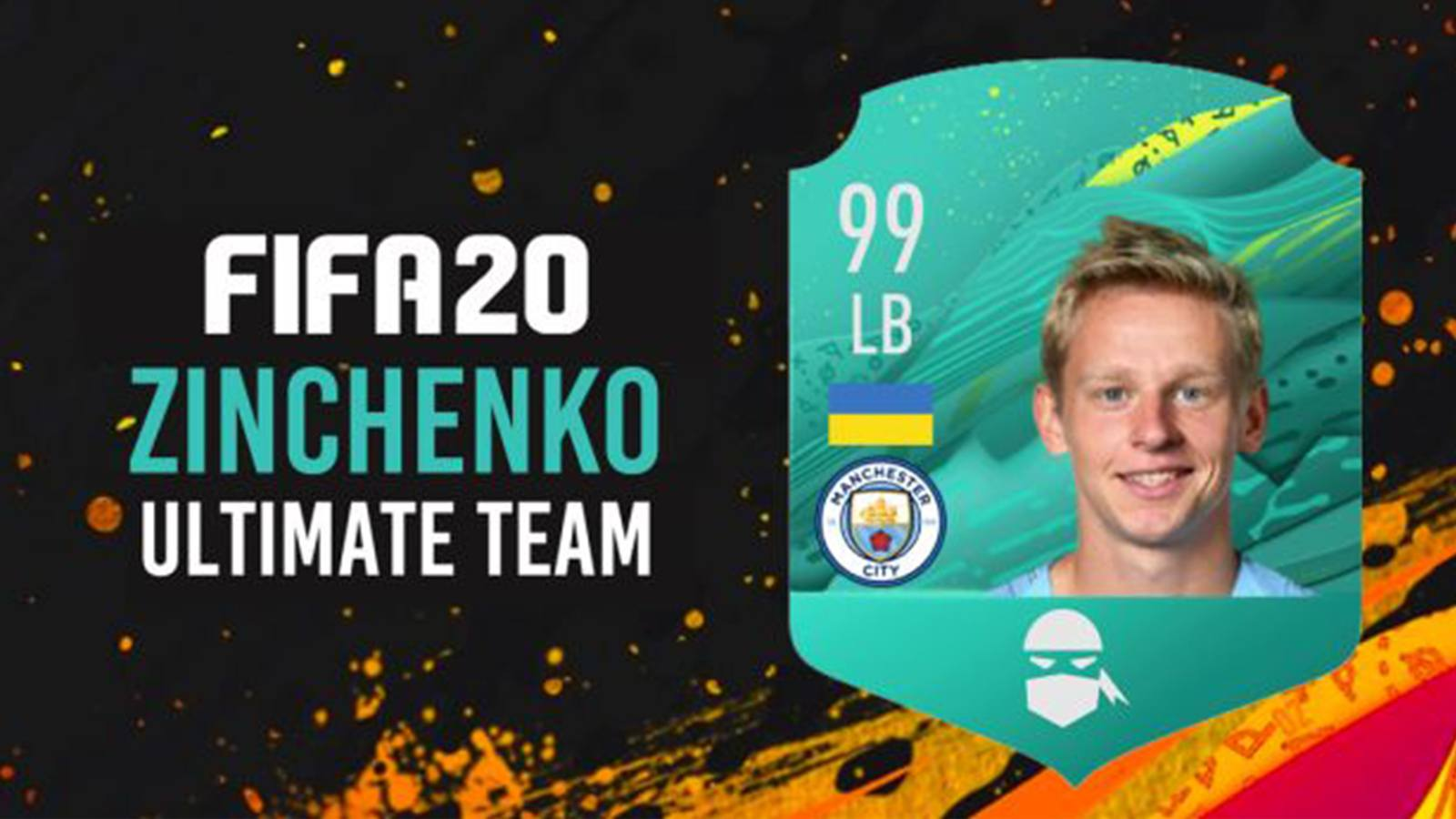 Equipe de Zinchenko sur le mode Ultimate Team de FIFA 20