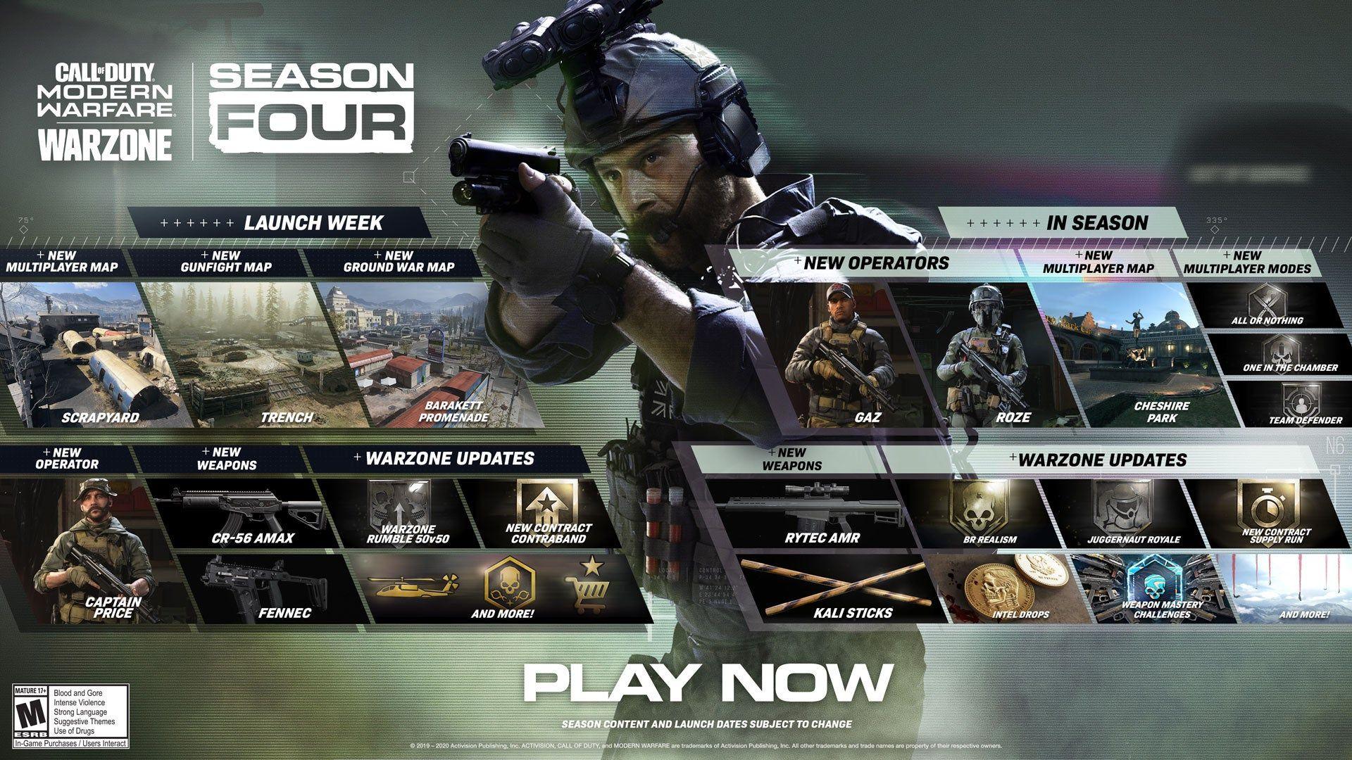 Call of Duty : Modern Warfare Saison 4 Infinity Ward