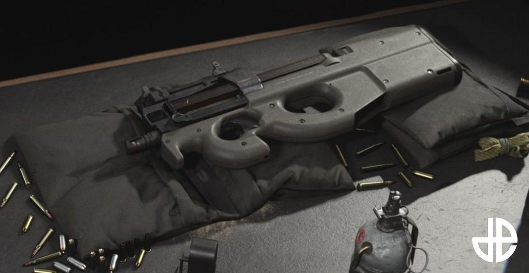 Call of Duty Warzone Infinity Ward P90