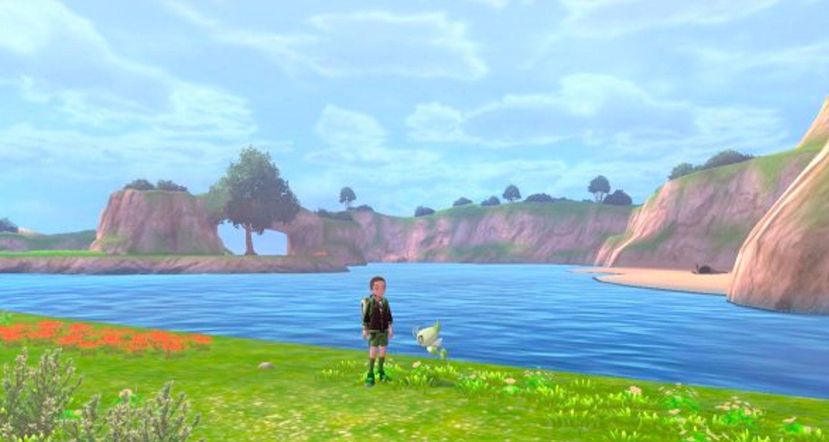 Pokémon Epée Bouclier île solitaire de l'Armure Game Freak Nintendo Lagune Circulaire